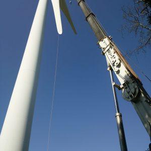 御前崎風車メンテナンス工事