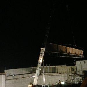 R-1寺尾橋橋梁工事